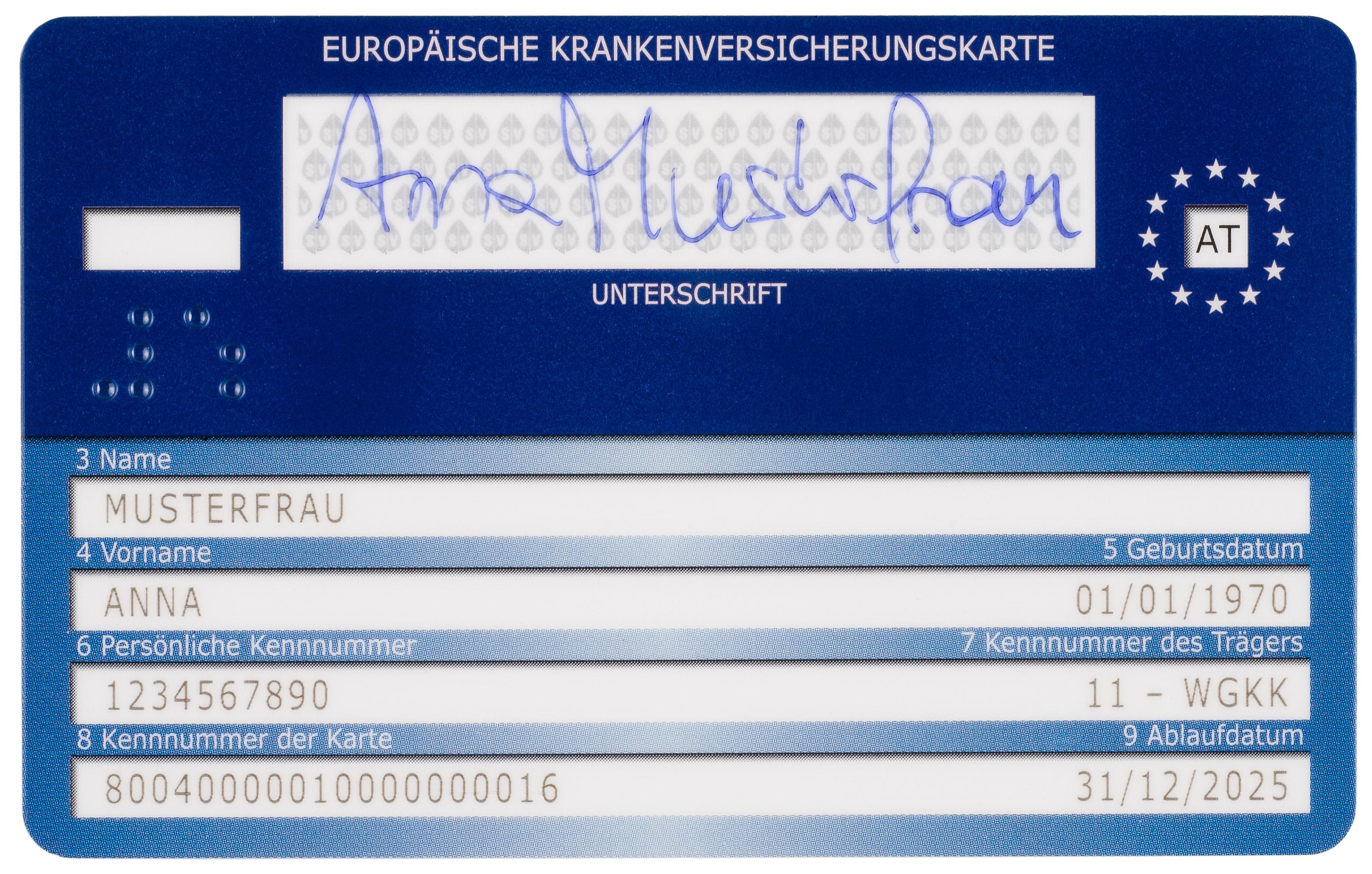 Europäische Krankenversicherungskarte Abrechnung : mit der e card in den urlaub ~ Themetempest.com Abrechnung